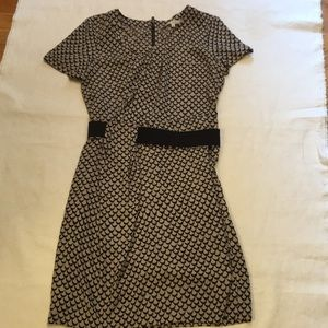 Rachel Roy size 4 ladies black & gray career dress